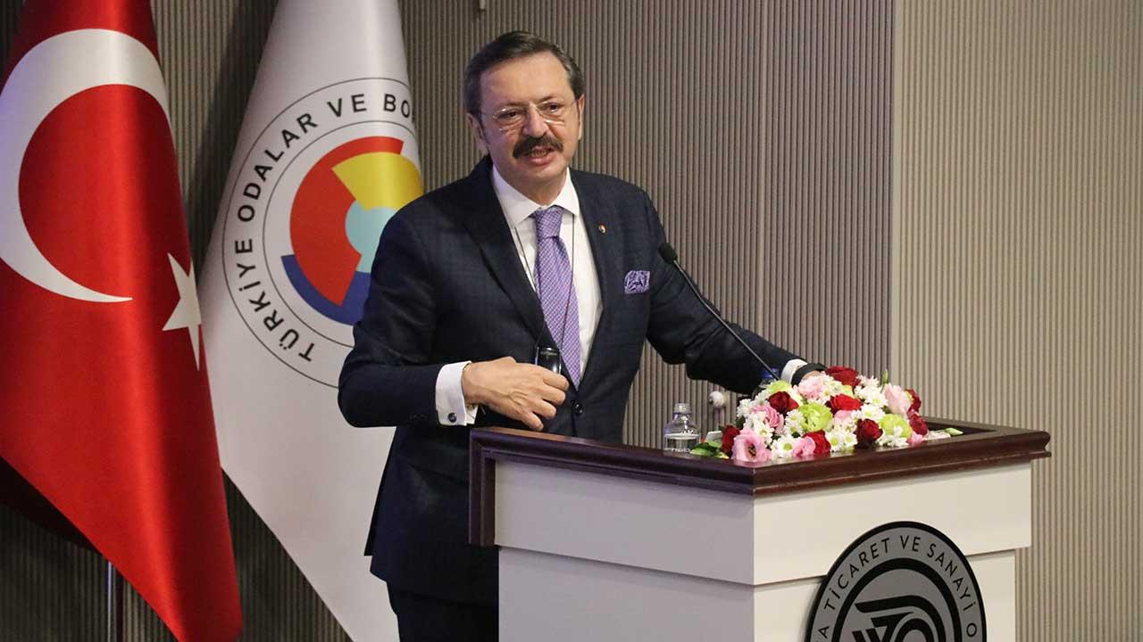 TOBB Başkanı Hisarcıklıoğlu: Birlik, beraberlik olursa çözülemeyecek bir şey yok