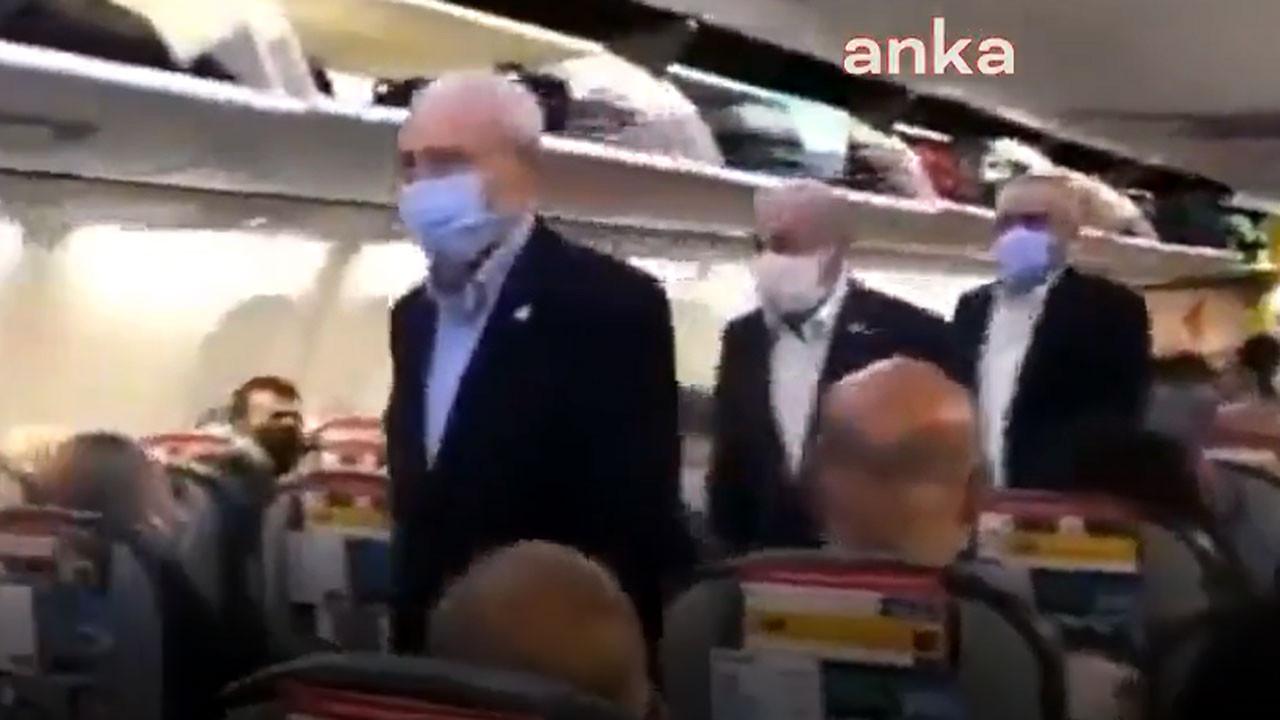 Kılıçdaroğlu, Ankara'ya tarifeli uçakla döndü