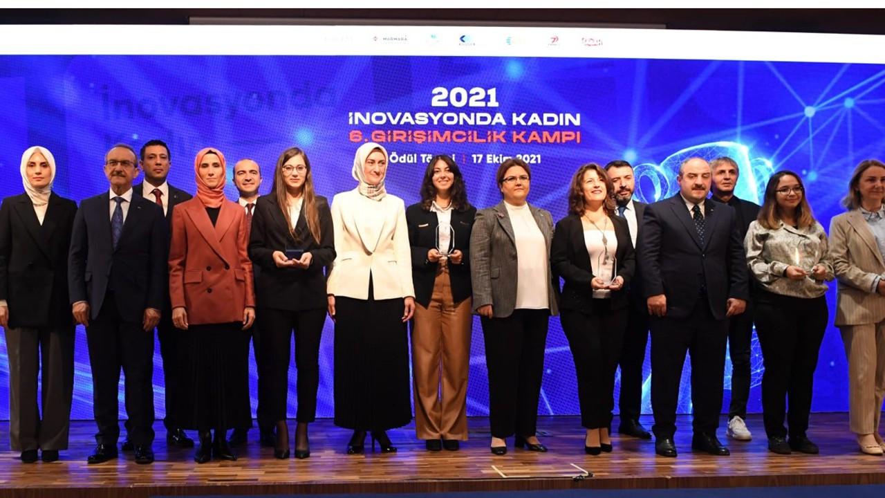 6. İnovasyonda Kadın Projesi Kampı Ödülleri sahiplerini buldu