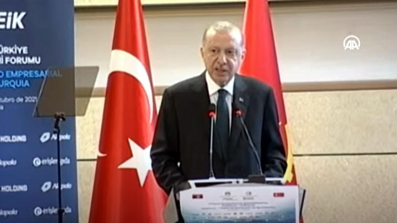Erdoğan: Angola ile ticaretimizi 500 milyon dolara çıkarma kararı aldık