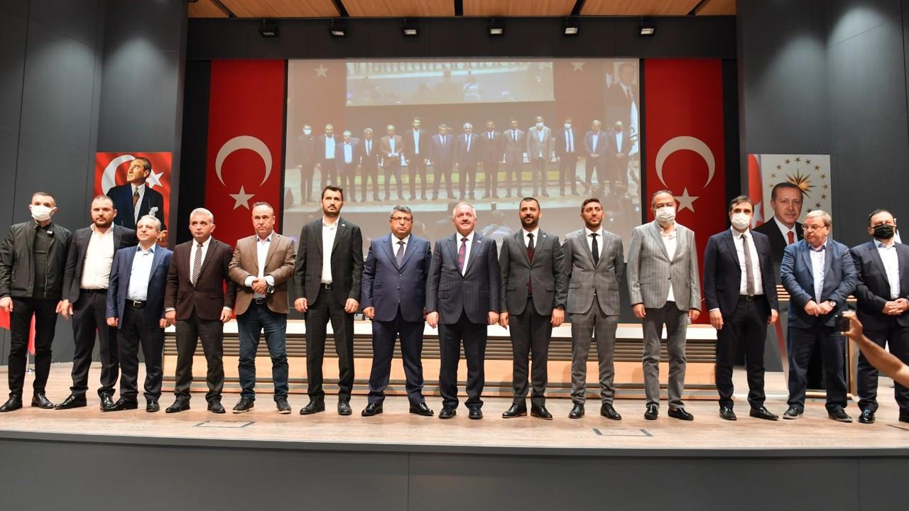 Görevden alınan başkandan Kayseri OSB'de devir teslim