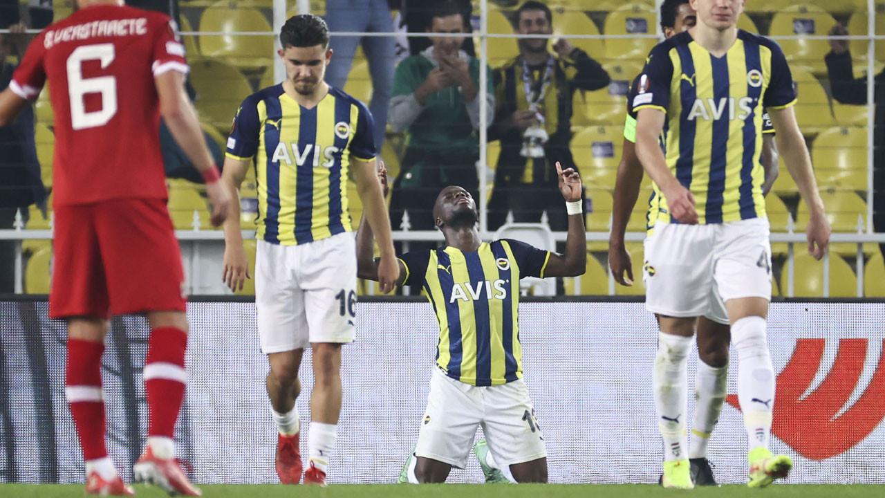 Fenerbahçe turu zora soktu: 2-2