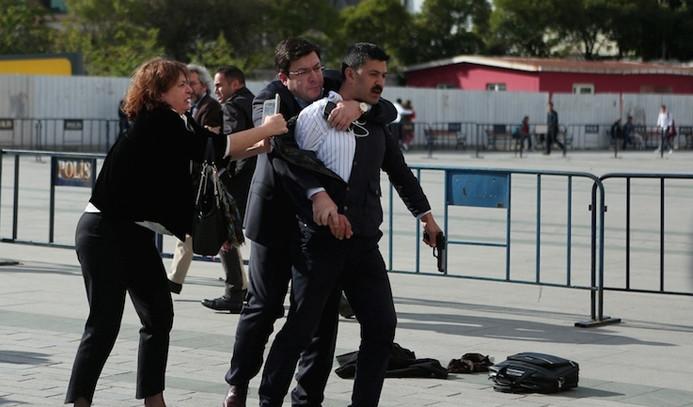 Dündar'a saldıran kişiye tahliye