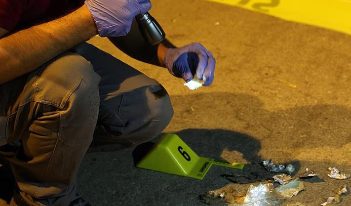 Polis merkezine ses bombası atıldı