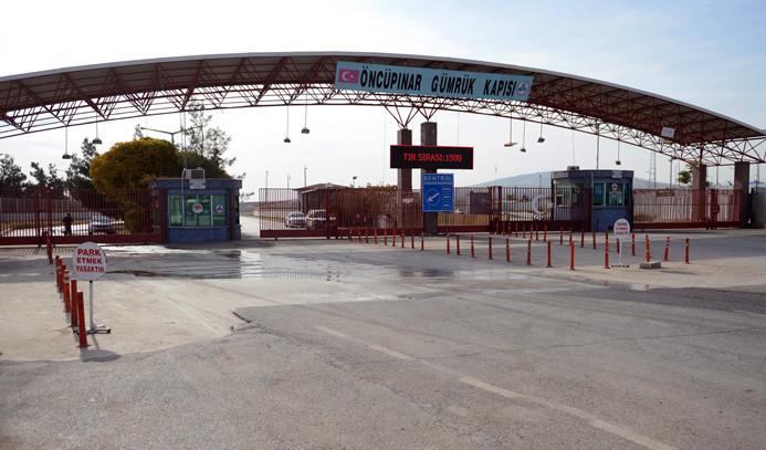 Sınır kapısı kapatıldı