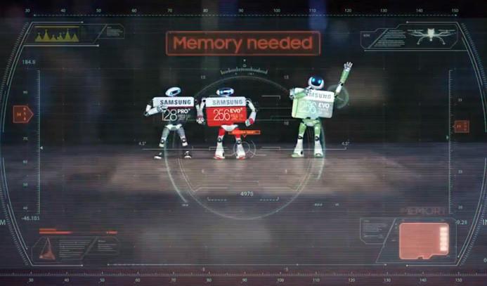 Samsung'dan aksiyon MicroSD reklamı