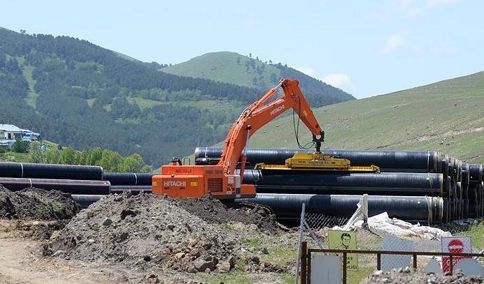 Şah Deniz 2 doğalgaz projesi hızla devam ediyor