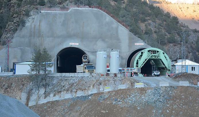 Avrupa'nın en uzun tüneli Giresun'da inşa ediliyor