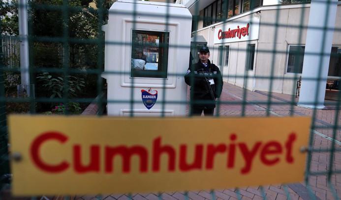 'Cumhuriyet' soruşturmasında 9 tutuklama