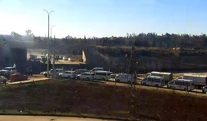İlk konvoy İdlib yolunda ilerliyor