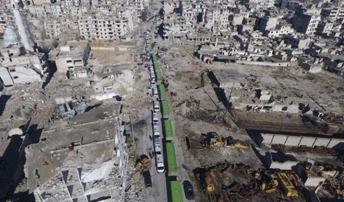 Halep'te 14 sivil hayatını kaybetti