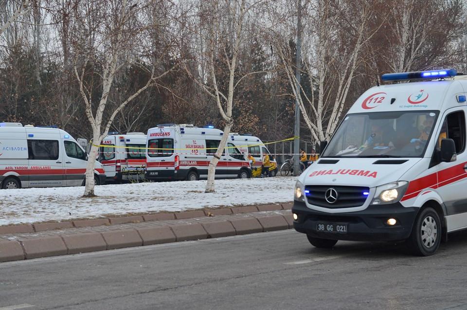 Kayseri'de bombalı terör saldırısı