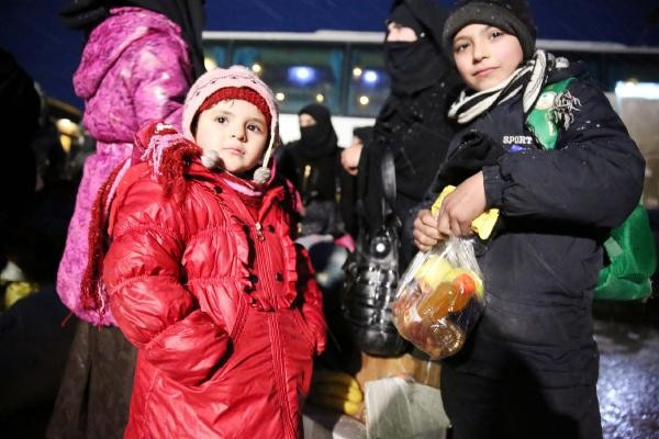Halep'ten tahliyeler tamamlandı