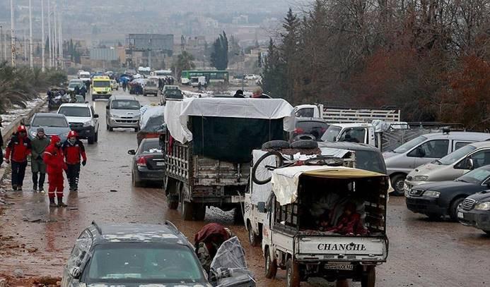 Doğu Halep'ten tahliyeler tamamlandı