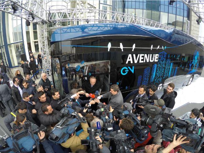 'Yerli ve elektrikli' otobüs yola çıktı