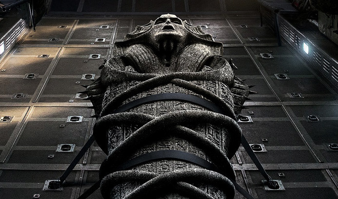 Tom Cruise ve Russell Crowe The Mummy'de