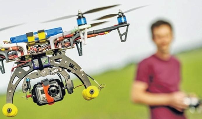 Hiç drone ile selfie çektiniz mi?