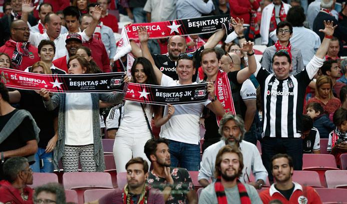 Beşiktaş Avrupa'da başka güzel