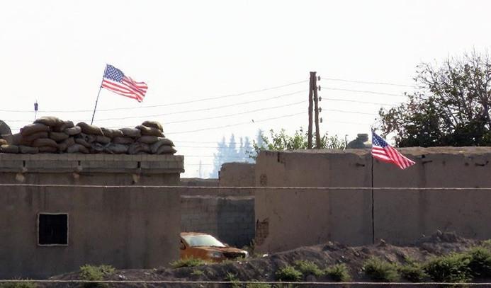 ABD'den PYD karargahındaki bayraklara açıklama