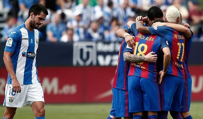 Barcelona'nın muhteşem üçlüsü iş başında