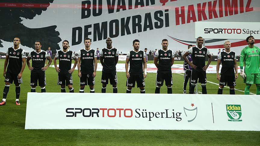 Beşiktaş'ın Şampiyonlar Ligi kadrosu belli oldu
