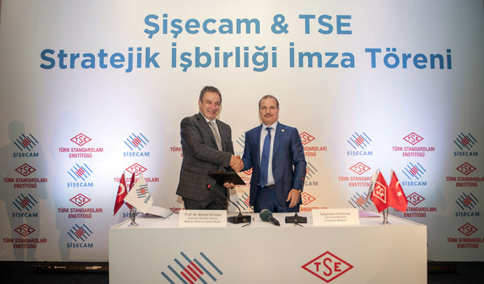 Şişecam ve TSE'den stratejik işbirliği