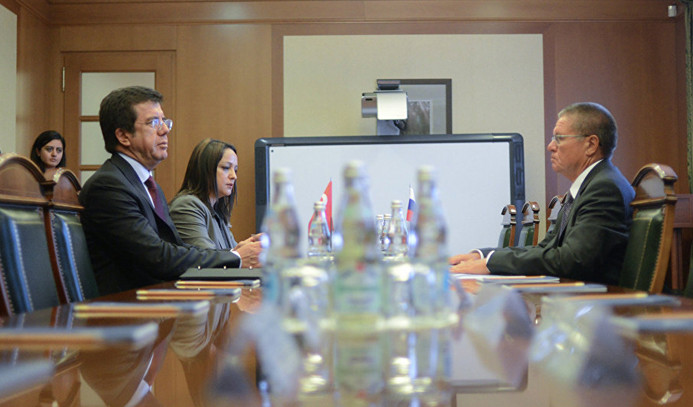Türk ve Rus ekonomi bakanları görüşecek