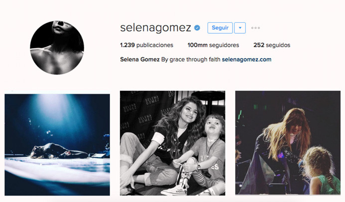 Instagram'da 100 milyon takipçi rekoru