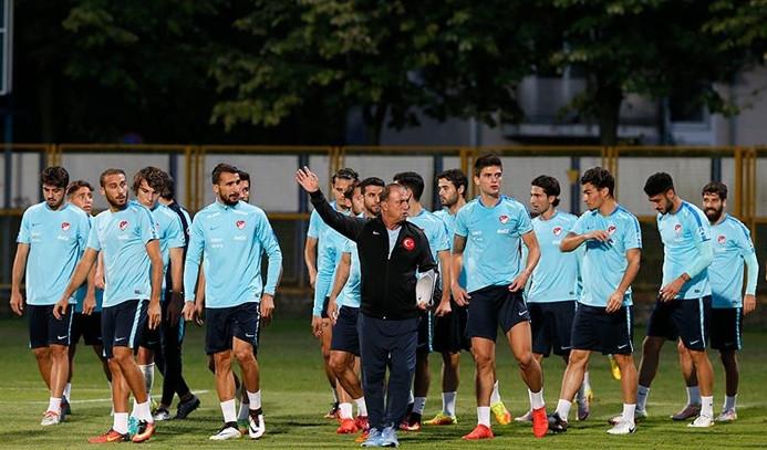 A Milli Futbol Takımı, Hırvatistan karşısında