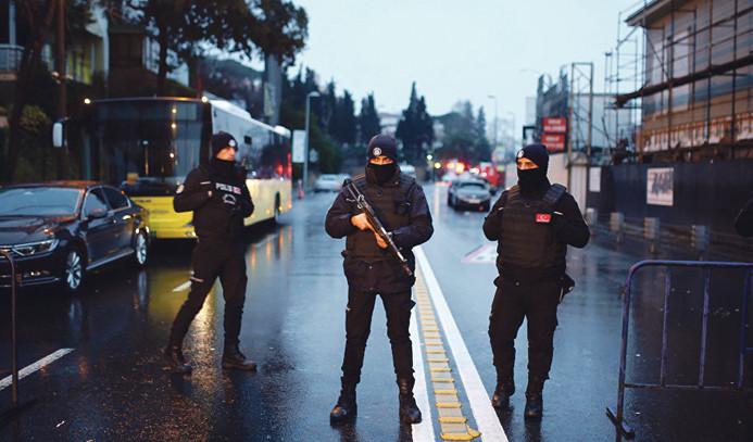 Reina operasyonu: 20 gözaltı