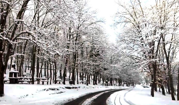 Hep kış olsun dedirten manzaralar