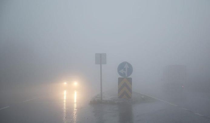 Bolu Dağı'nda ulaşıma sis engeli