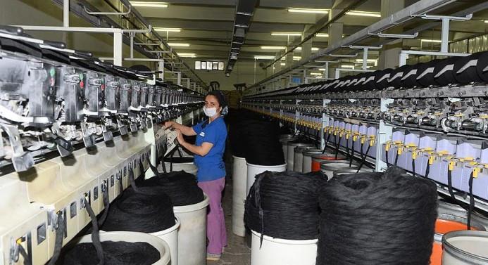 Tekstil atığından ekonomiye 1 milyar TL