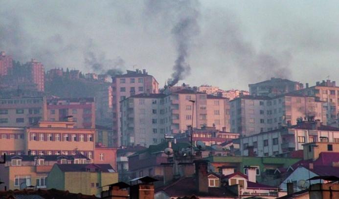 Havası en kirli 10 şehirden 8'i Türkiye'de
