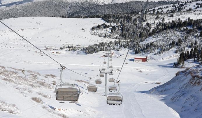 2 bin rakımlı yaylada kayak merkezi açıldı
