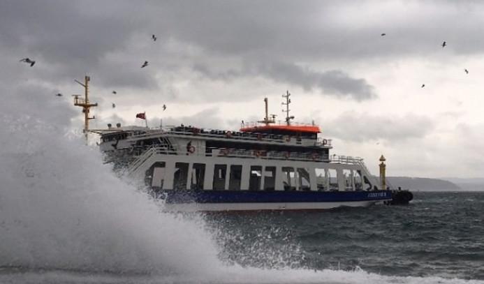 Deniz ulaşımına hava engeli