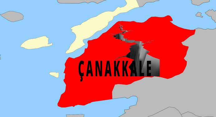 Çanakkale'de yine deprem oldu