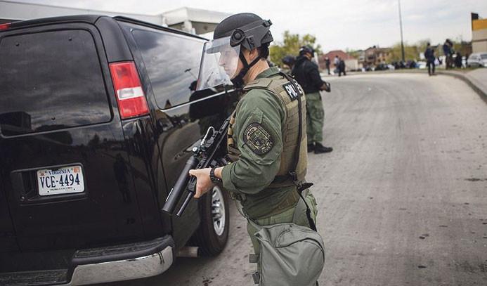 ABD'de 600 göçmen gözaltına alındı