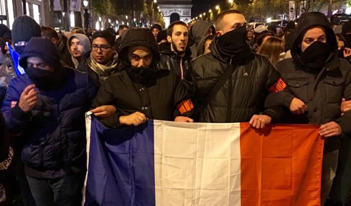Fransa'da polise yönelik protestolar sürüyor
