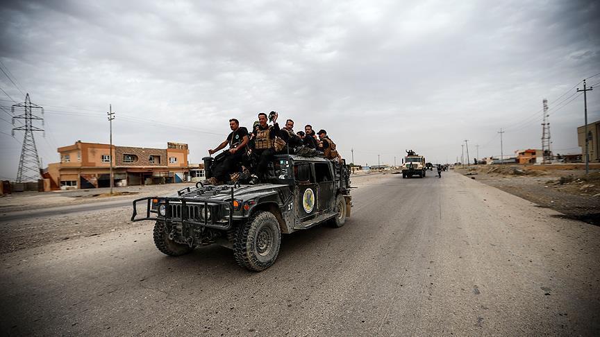 Musul'un batısında DEAŞ operasyonu