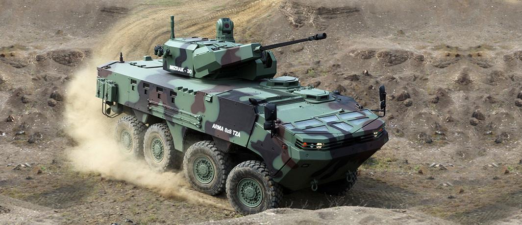 Koç, Araplara zırhlı araç satacak