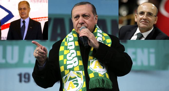 Erdoğan'dan Mehmet Şimşek sırrı!
