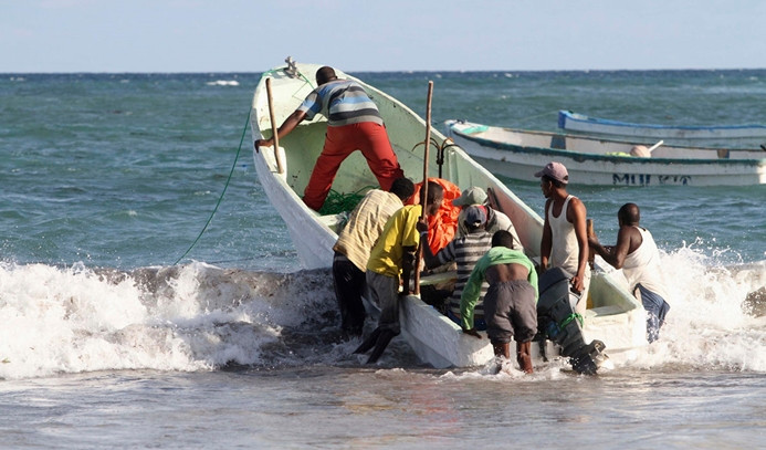 TİKA'dan Somalili balıkçılara destek