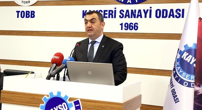 Kayseri'de hedef 25 bin istihdam