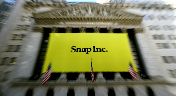 Snapchat'in halka arz başarısı