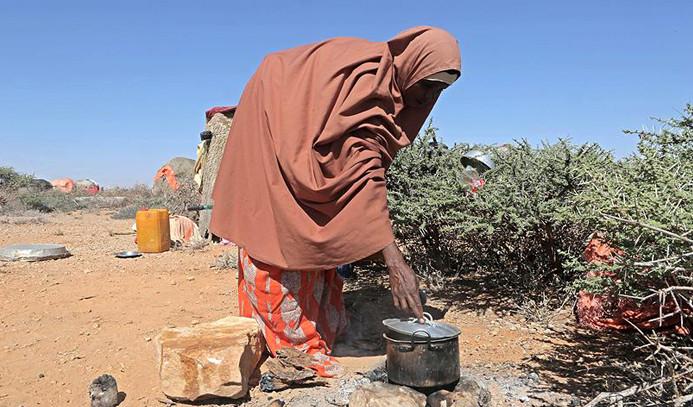 Somali'de 2 günde 110 kişi açlıktan öldü