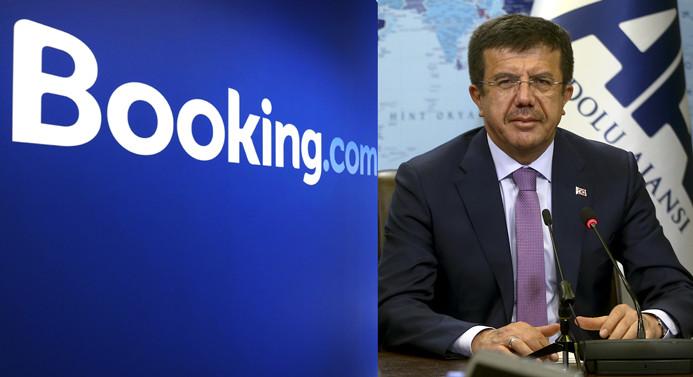 Zeybekci'den booking.com açıklaması