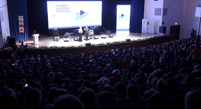 """""""Uluslararası Ankara 28. Film Festivali"""" başladı"""