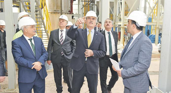 Bursa'da bugün 237 milyon TL'lik yatırım hizmete giriyor