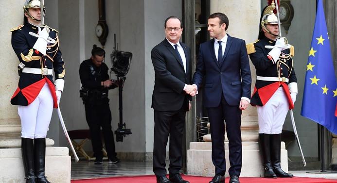 Macron ilk konuşmasını yaptı